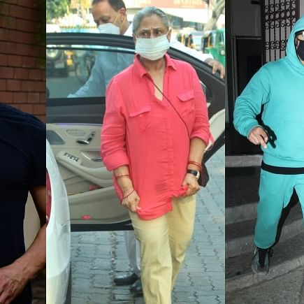 Celebrity Spotting: Aamir Khan, Ranveer Singh, Jaya Bachchan and others captured by paps in Mumbai