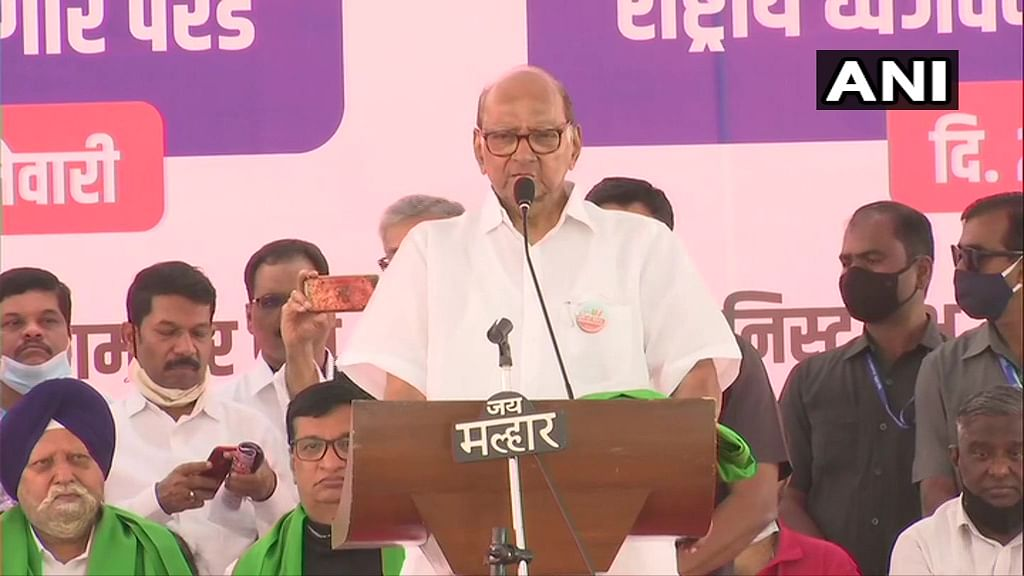 Maha Governor Bhagat Singh Koshyari has time for Kangana Ranaut, not for farmers: Sharad Pawar