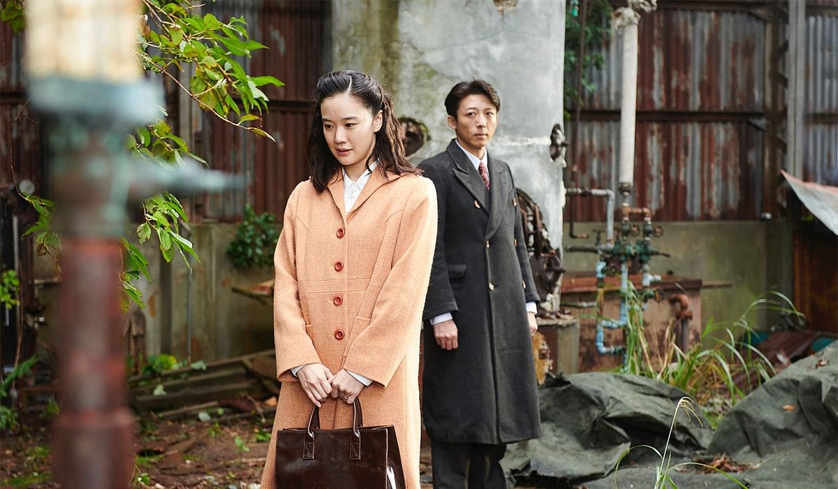 A still from the Japanese movie, Wife of A Spy