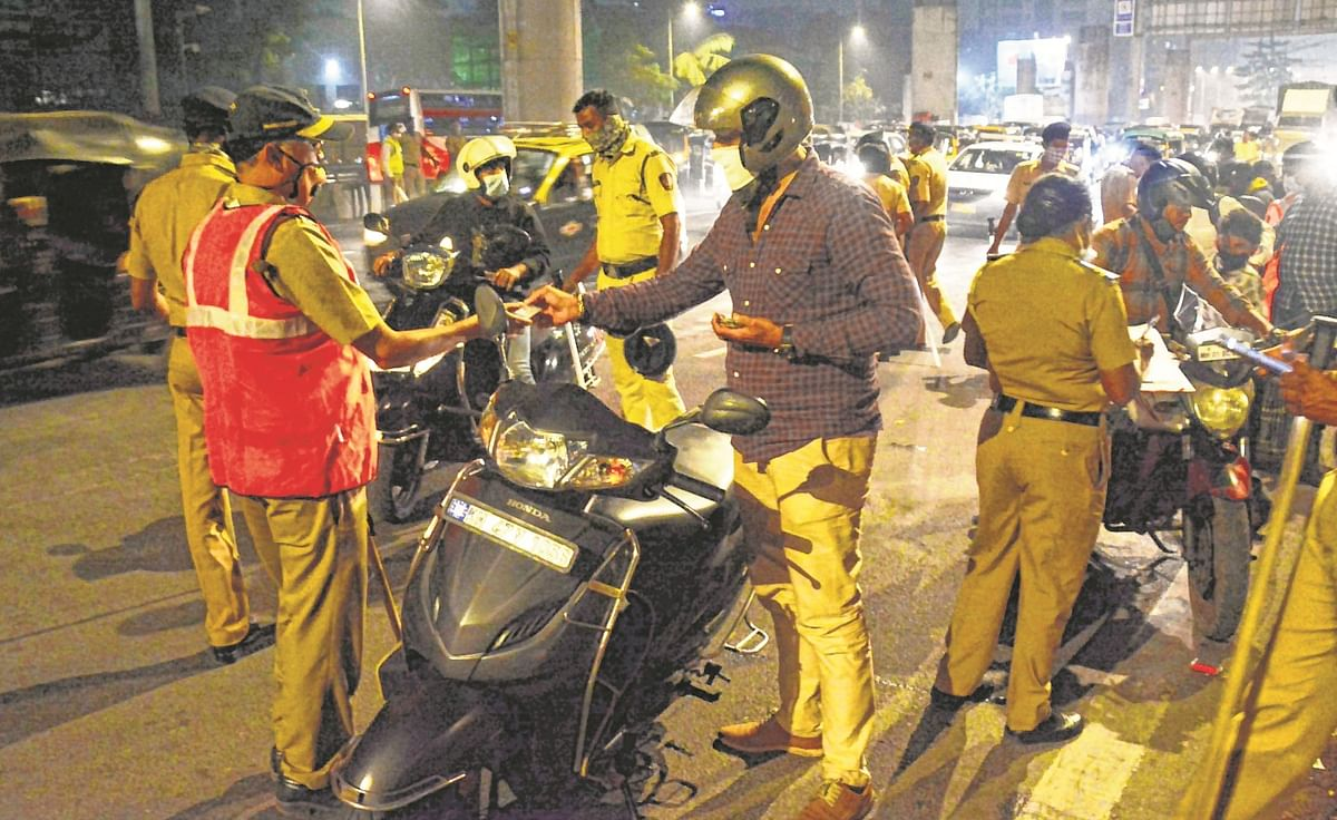Traffic police catch 623 motorists for drunk driving in Thane