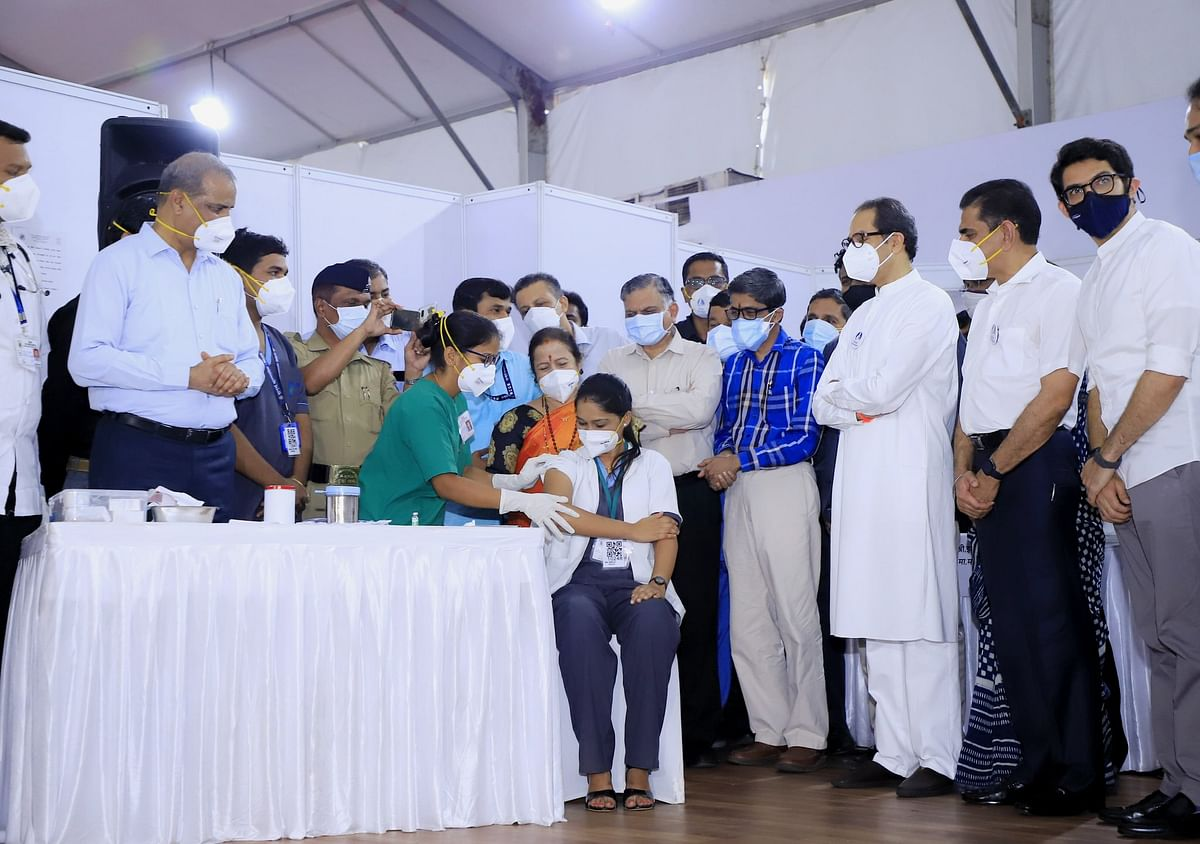 Maharashtra leads the COVID-19 vaccination drive