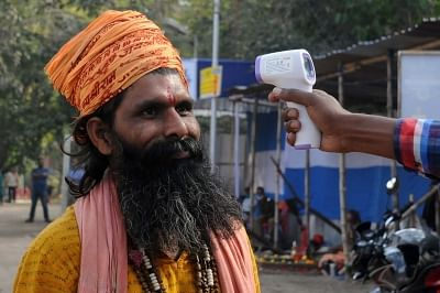 Madhya Pradesh: GET JABBED: Sadhus say in support of Covid vaccination drive in state