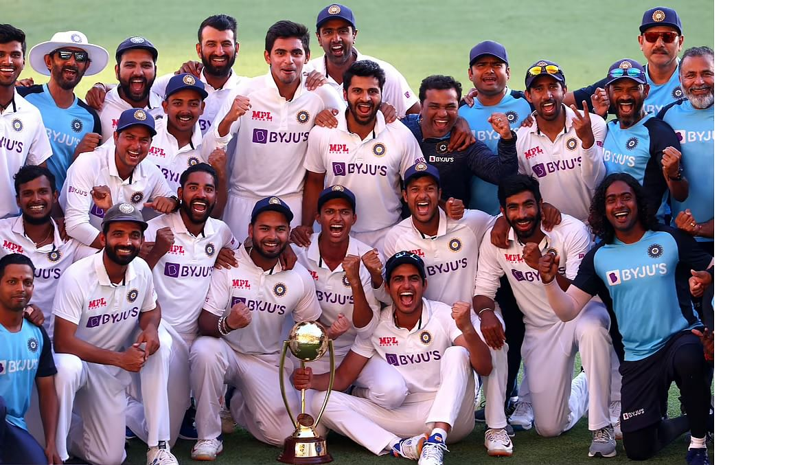Indian team's cup of joy runneth over