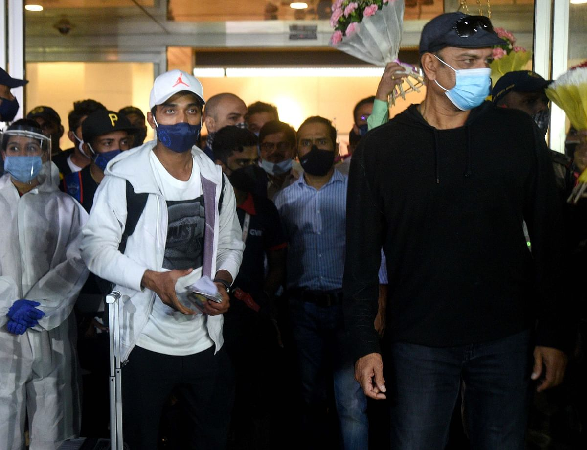 Indian cricketers granted exemption from institutional quarantine