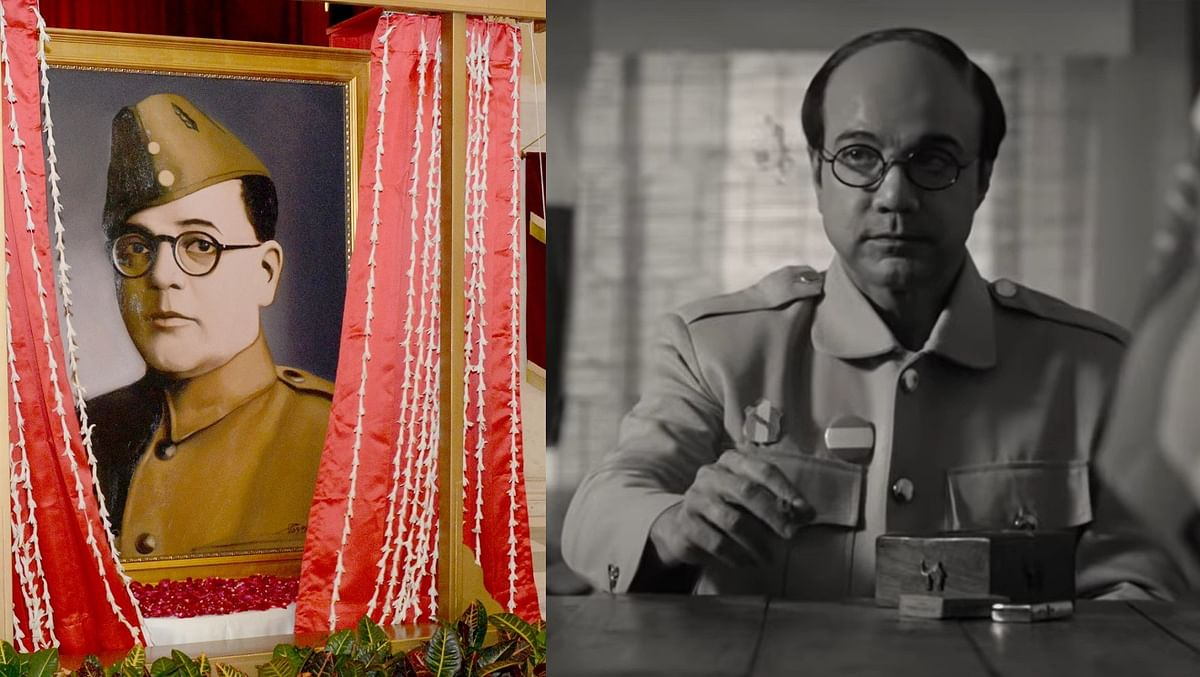 'Is that Netaji or...?' Twitter debates as President Kovind unveils new portrait of Subhas Chandra Bose
