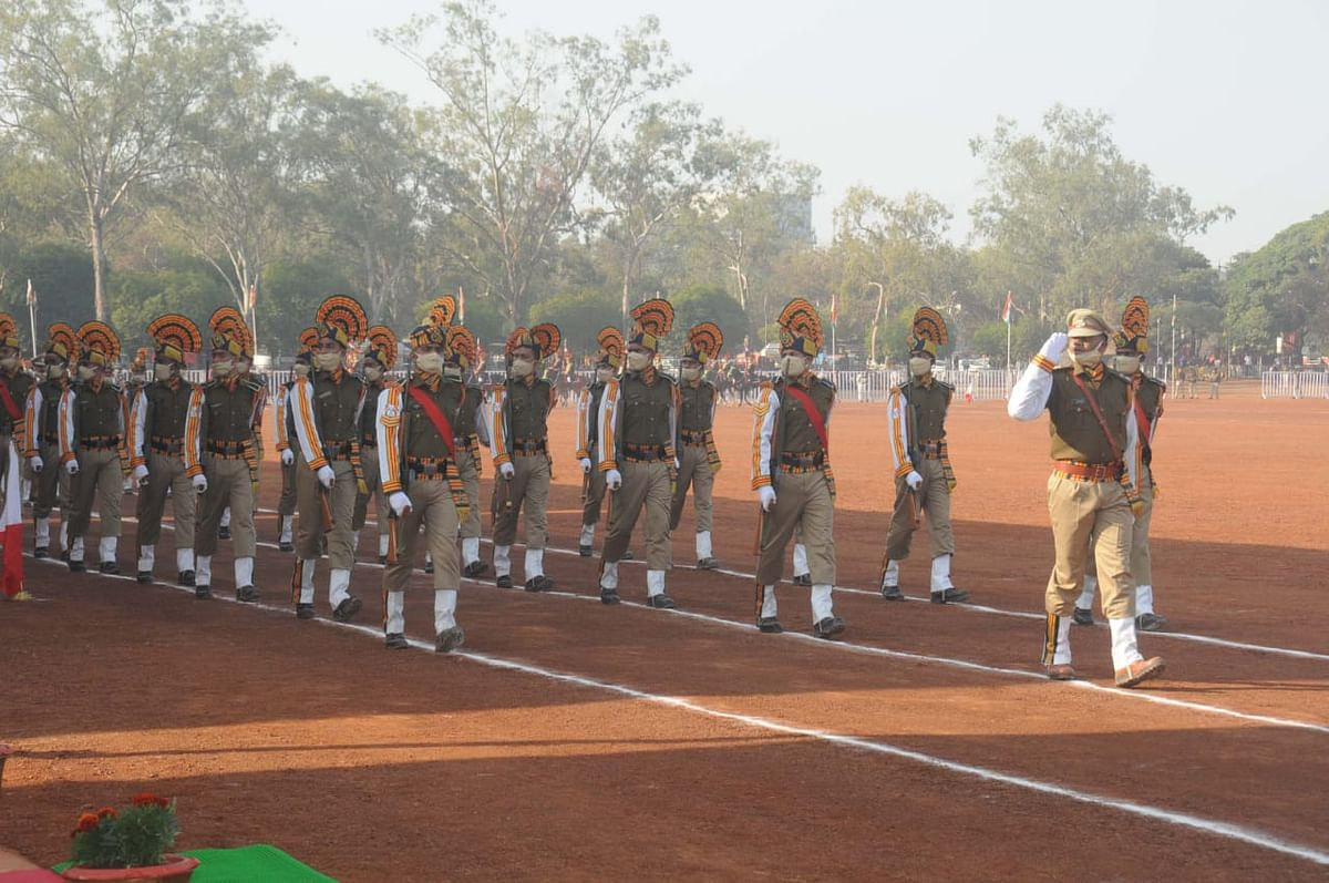Full dress rehearsal was held in Bhopal on Sunday