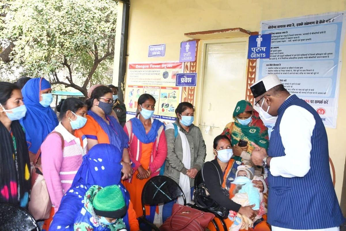 State medical education minister Vishwas Sarang in Govindpura on Saturday