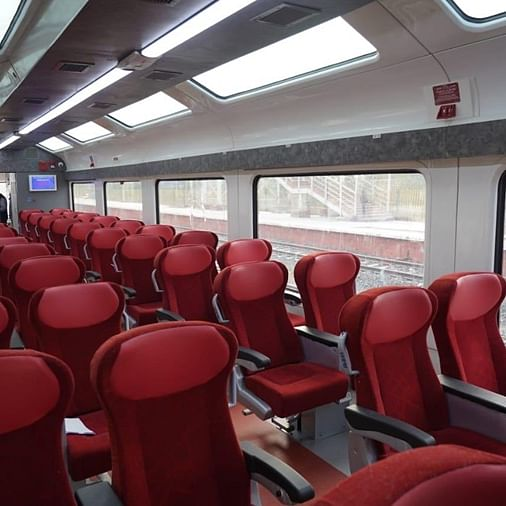 Ahead of inauguration, PM Modi shares photos of Jan Shatabdi Express with Vistadome coaches