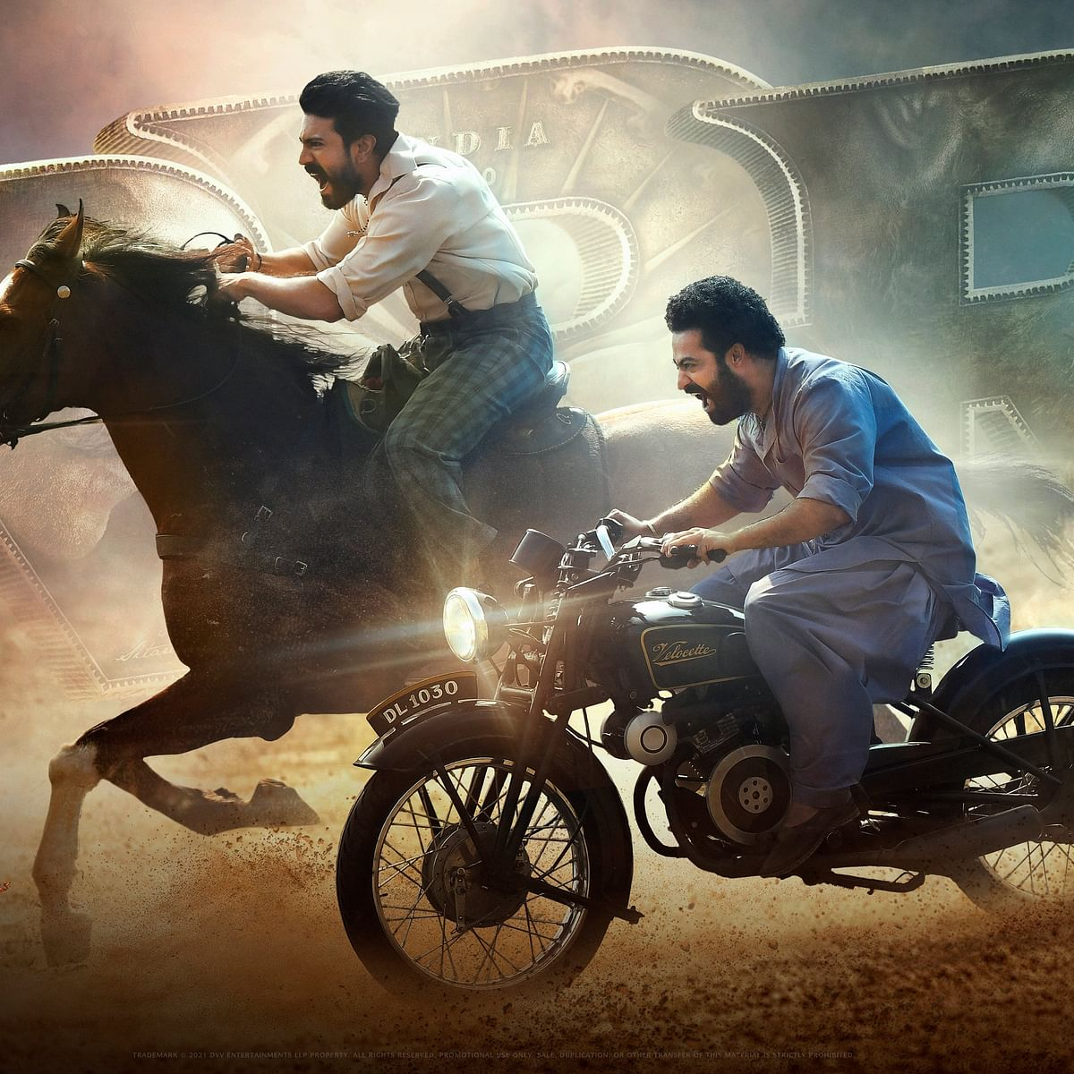 SS Rajamouli's period action film 'RRR' to release on October 13, 2021