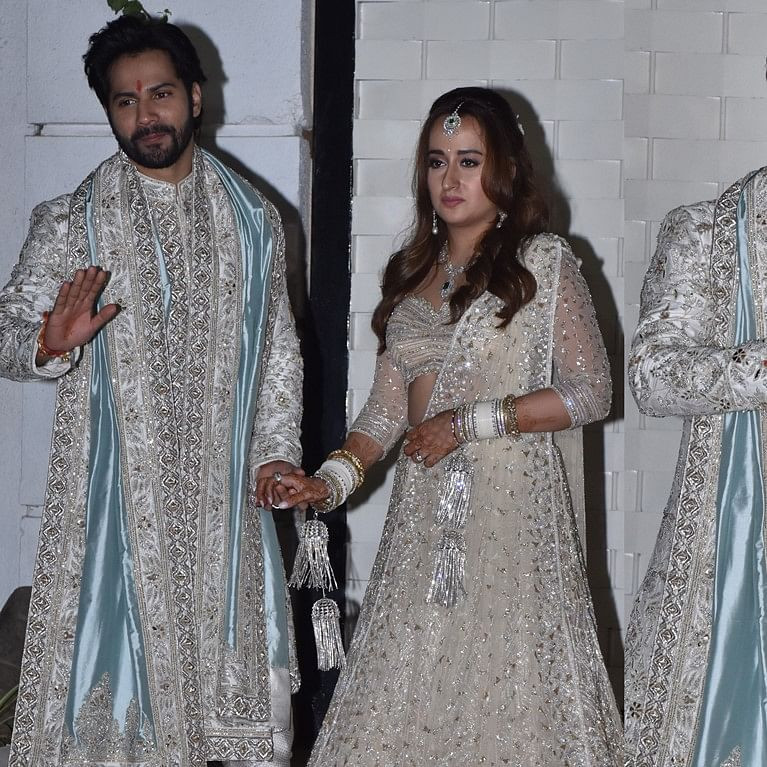 'Darr jayegi bechari': Video of Varun Dhawan protecting wife Natasha Dalal post-wedding goes viral