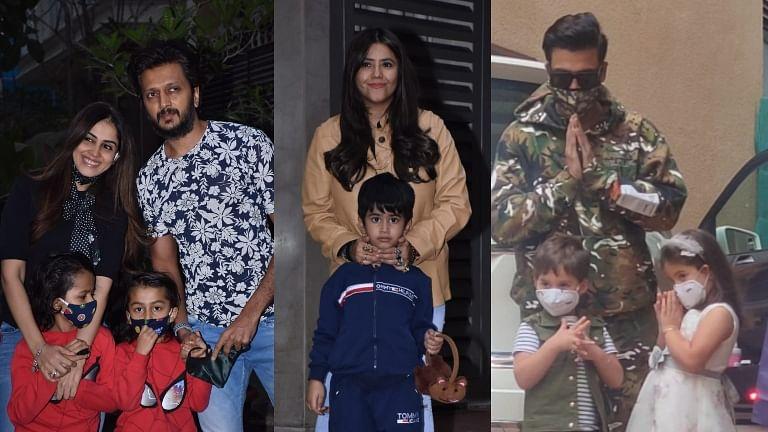 Ravie Kapoor turns 2: Karan Johar, Riteish Deshmukh, Sussanne Khan and others attend Ekta Kapoor's son's birthday bash