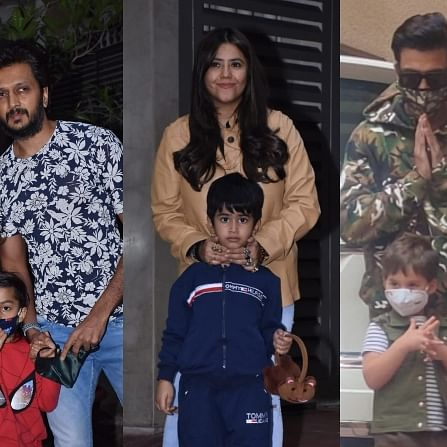 Ravie Kapoor turns 2: Karan Johar, Riteish Deshmukh, Sussanne Khan and others attend Ekta Kapoor's son's birthday bash