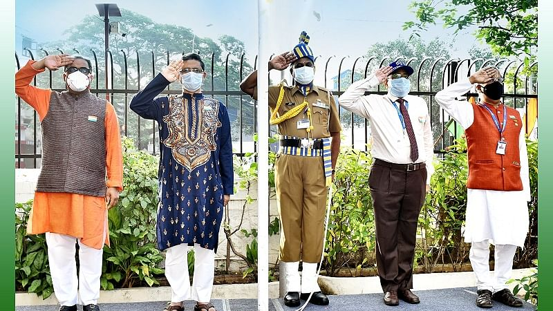Indian Overseas Bank celebrates 72nd Republic Day