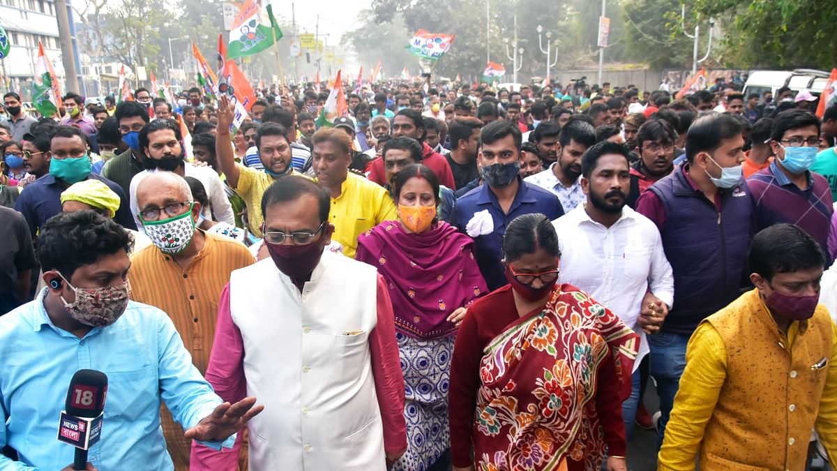 BJP cadres don Trinamool's disguise and spread violence: West Bengal minister