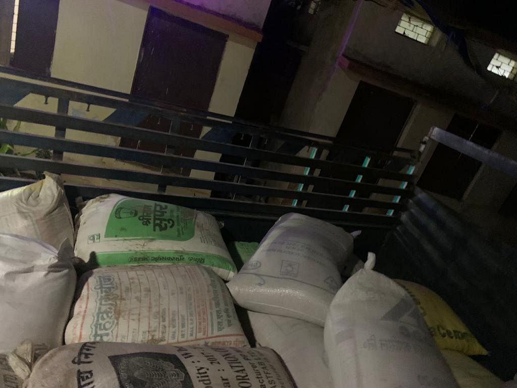 NEEMUCH: 29 quintals of rice meant for public distribution system seized from vehicle, one arrested and two named in transporting it