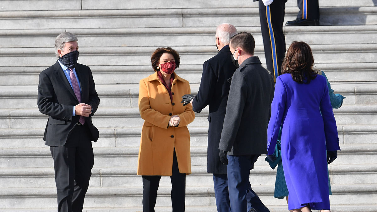 Inauguration Day: Joe Biden, Kamala Harris arrive at US Capitol