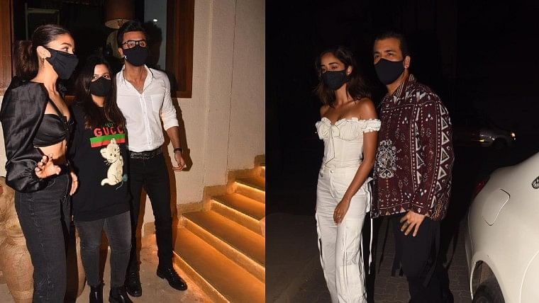 Deepika Padukone birthday bash: Ranbir Kapoor arrives with Alia Bhatt; Karan Johar, Ananya Panday in attendance