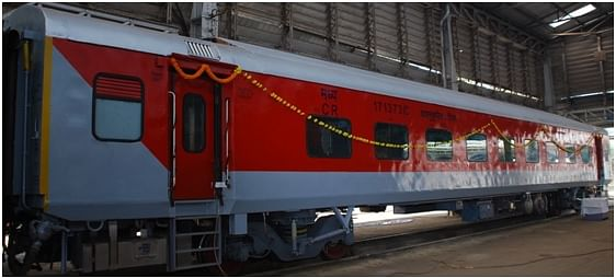 Central Railway's Matunga Workshop rolls out 100th LHB coach after maintenance