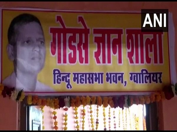 Madhya Pradesh: Congress demands strict action after Hindu Mahasabha opens Nathuram Godse library in Gwalior
