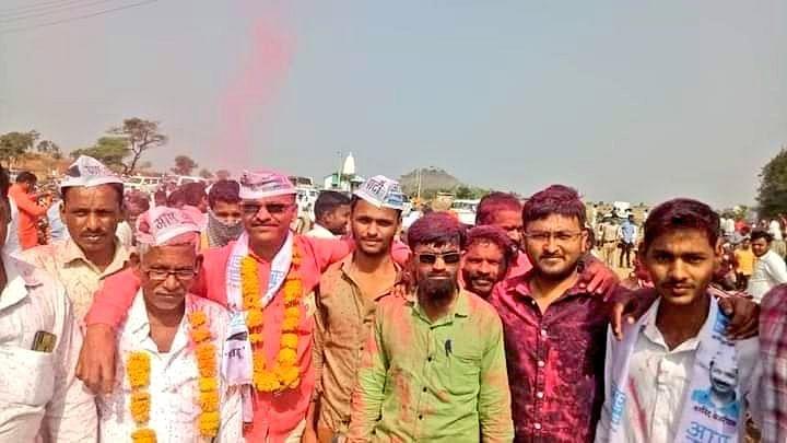 Latur: Kejriwal hails victory of AAP's Panel in Gram Panchayat election