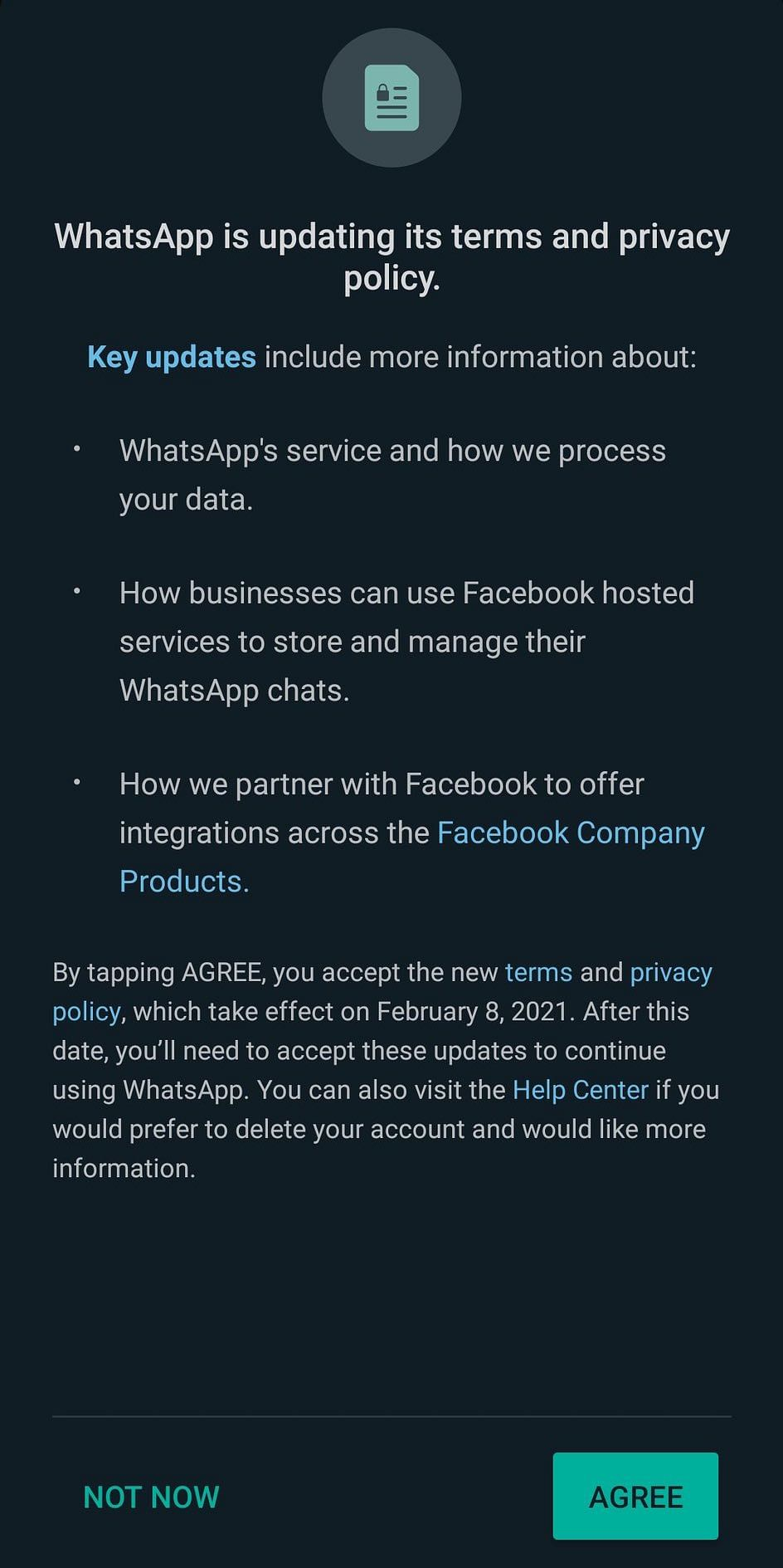 WhatsApp updates Terms of Service, privacy policy: Read here