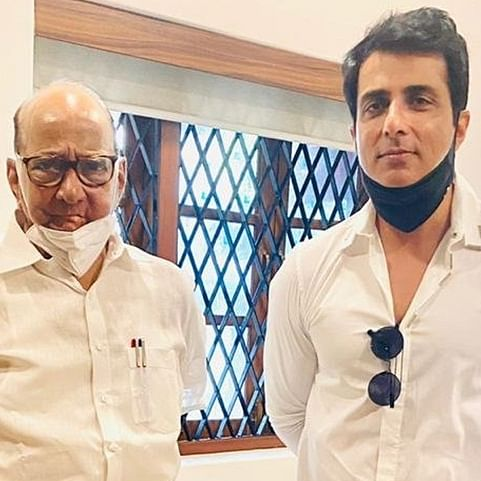 Amid tussle with BMC, Sonu Sood meets NCP chief Sharad Pawar