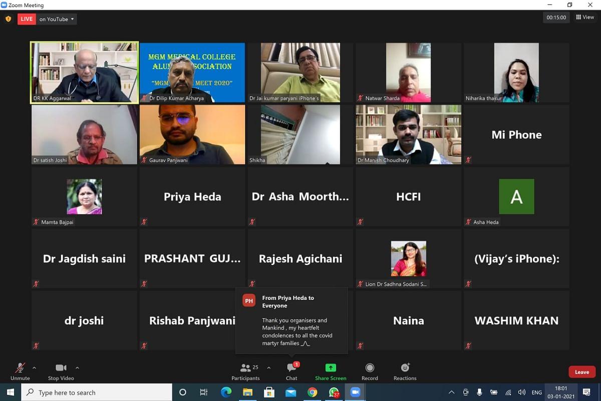 The participants of webinar