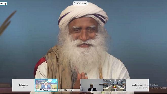 India must take cultural leadership in the world: Sadhguru at IIPA webinar