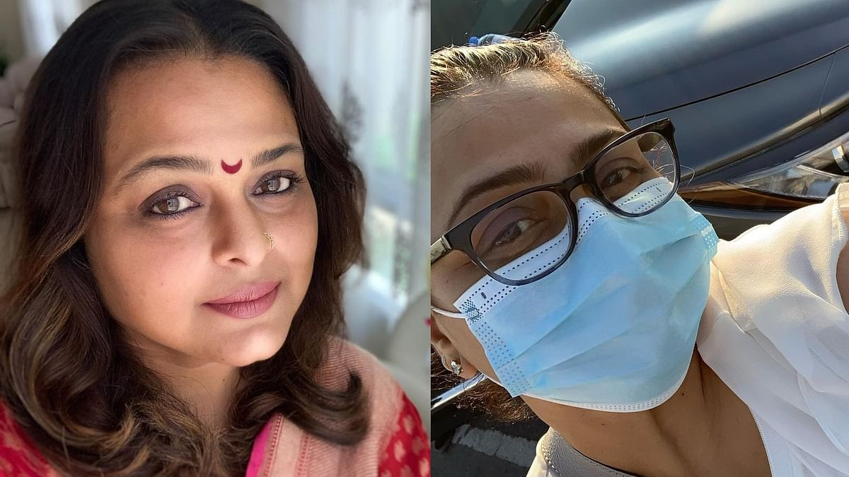Shilpa Shirodkar becomes first Bollywood celeb to get COVID-19 vaccine in Dubai