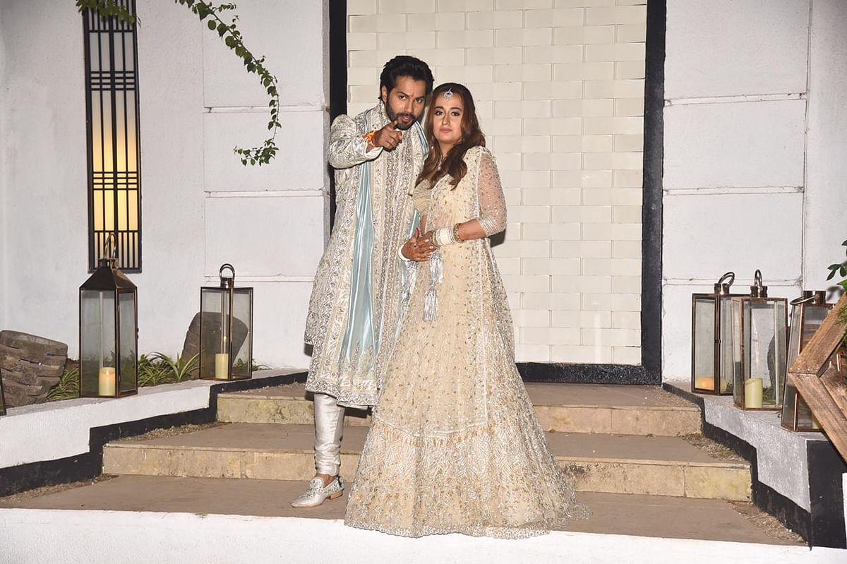 'Life long love just became official': Varun Dhawan, Natasha Dalal tie the knot in Alibaug; see pictures