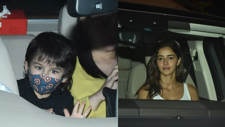 Kareena Kapoor, Taimur Ali Khan attend birthday party; Gauri Khan, Ananya Panday arrive at Karan Johar's residence; see pics
