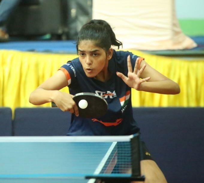 Pritha Vartikar of Pune  in action