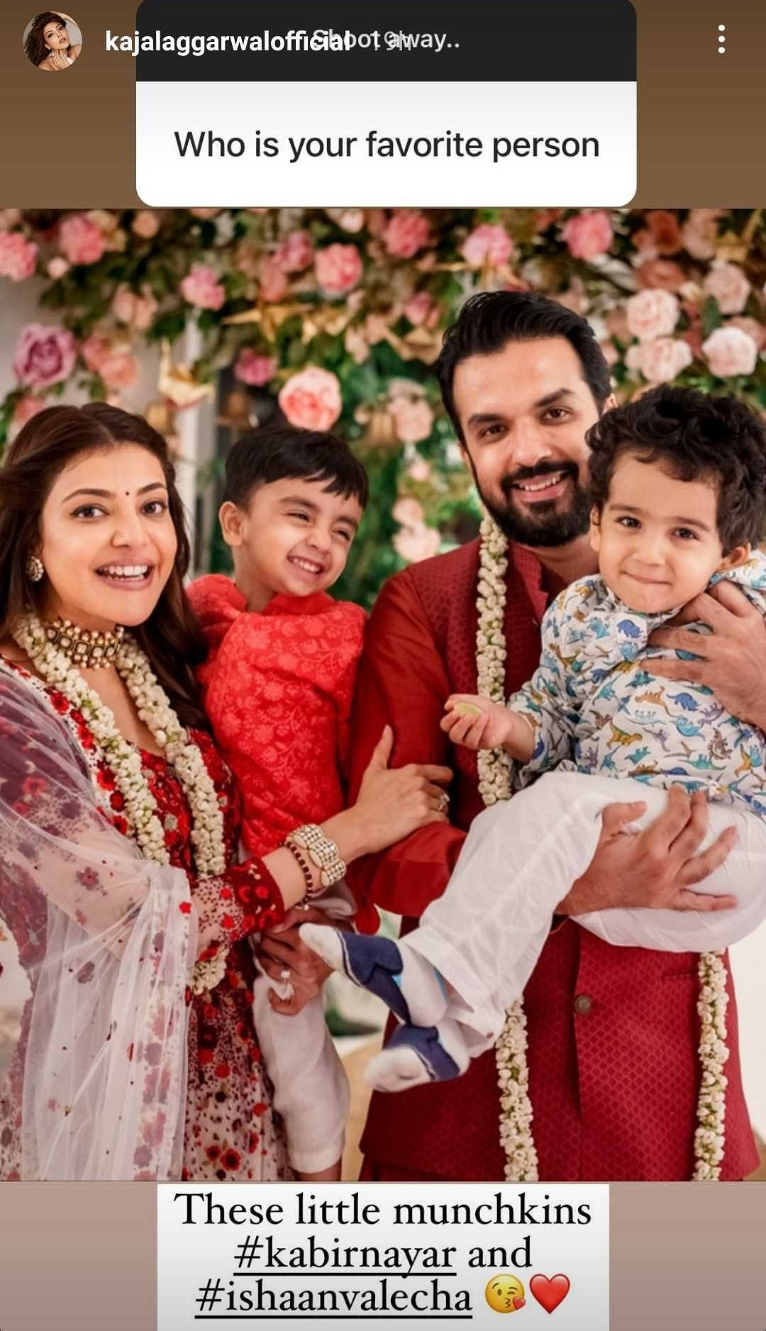 From life after marriage to working in films, Kajal Aggarwal shares exclusive details during Instagram Q&A