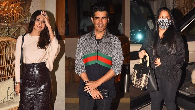 In Pics: Shilpa Shetty, Arpita Khan Sharma, Manish Malhotra and other Bollywood celebs spotted in Mumbai