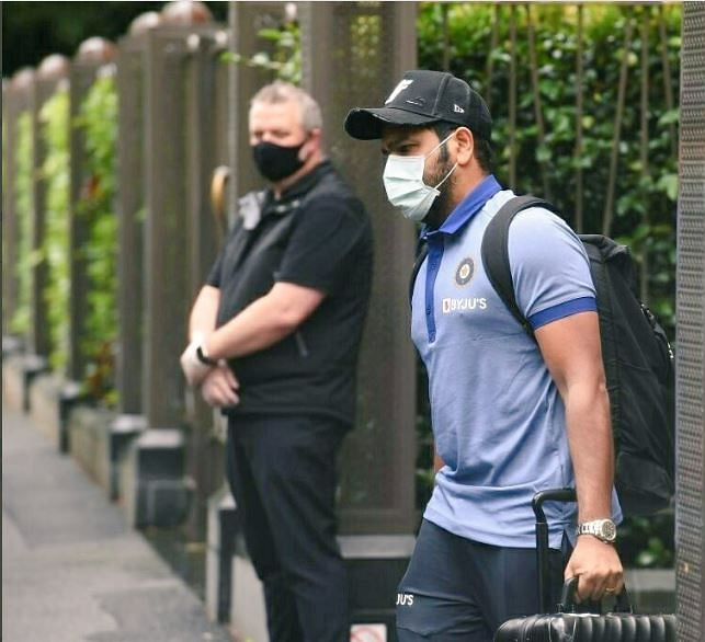 Hitman in Oz hit list; Rohit Sharma has joined an upbeat Indian team for the last two matches and Aussies are aware of the threat he can pose