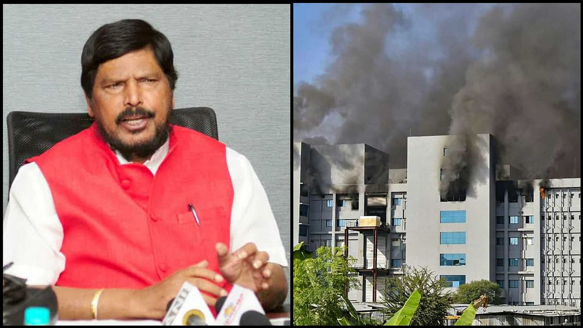 Athwale to ask PM Modi, FM Sitharaman for compensation to Serum Institute after fire incident