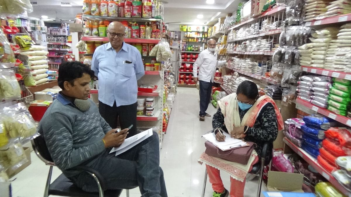 Madhya Pradesh: Food and drug department conducts inspection in Nagda, collects samples from grocery store, dairy