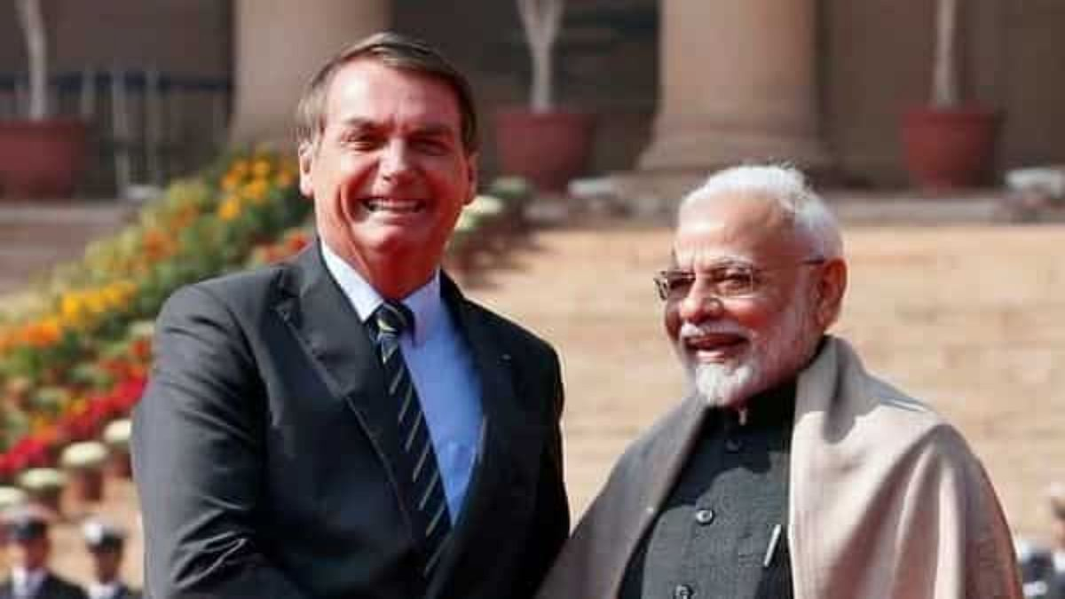 'Dhanyawaad, Bharat!': Brazil's president Jair Bolsonaro thanks PM Modi after India sends out 2 million doses of Covishield vaccines