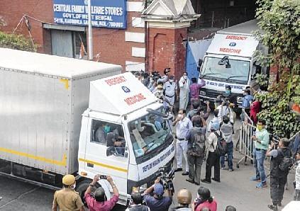Covishield doses reach Kolkata