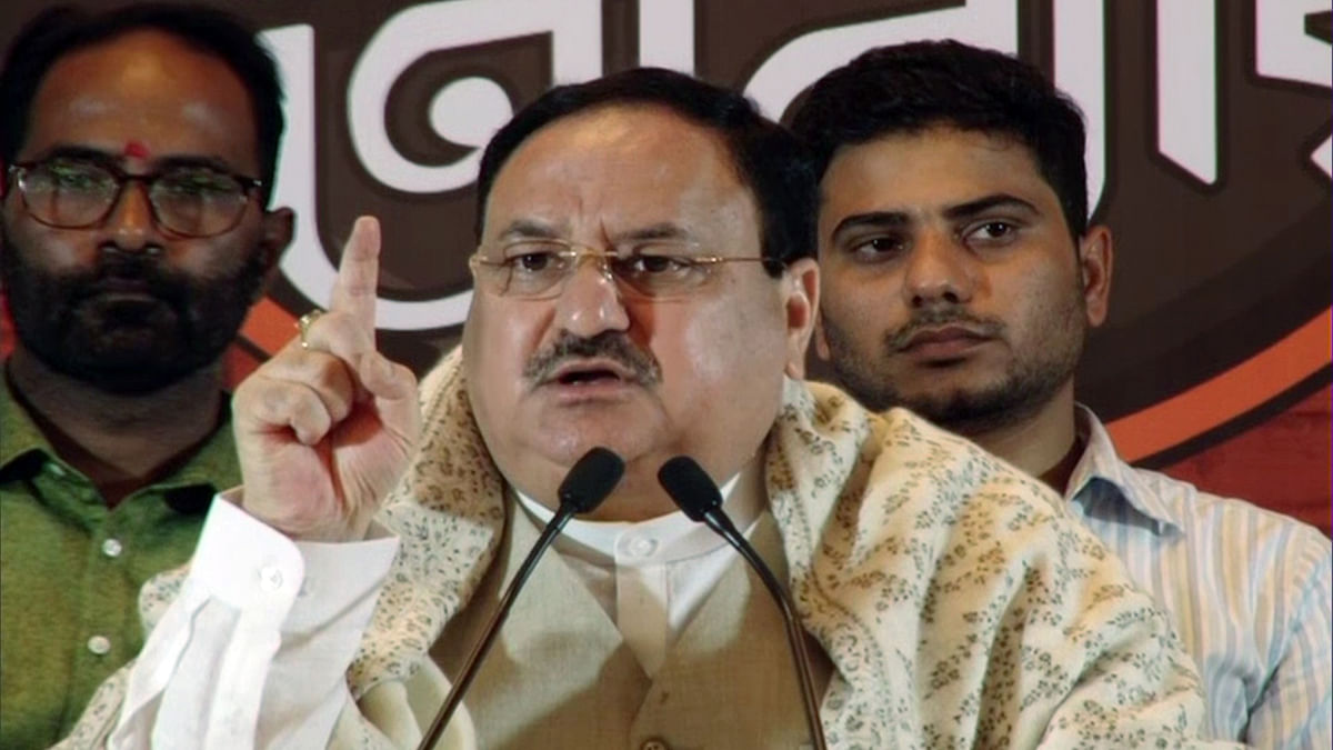 'Family-run parties are reduced to regional outfits': JP Nadda hits out at Congress during 2-day visit to Varanasi