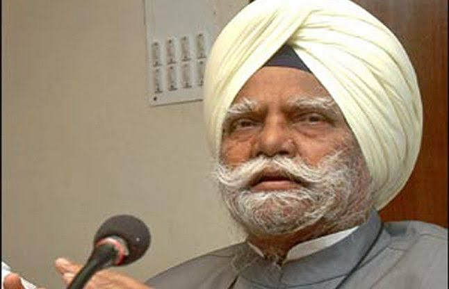 Former Union home minister and senior Congress leader Buta Singh