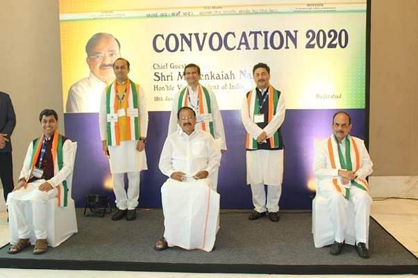M. Venkaiah Naidu graces ICSI's first Hybrid Convocation