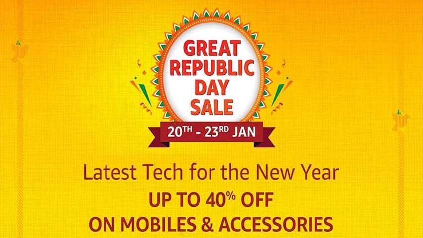 Amazon Republic Day Sale from Jan 20-23: Offers on smartphones, electronics, fashion, and more