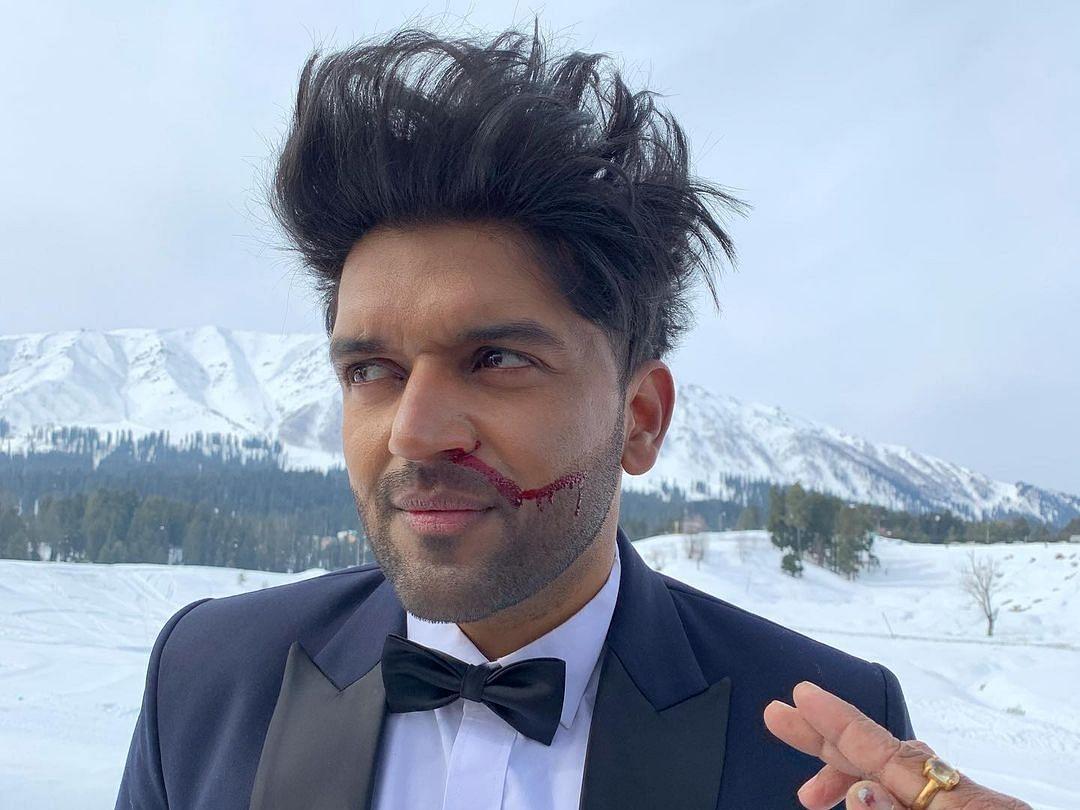 Guru Randhawa suffers nose bleed while shooting in Kashmir