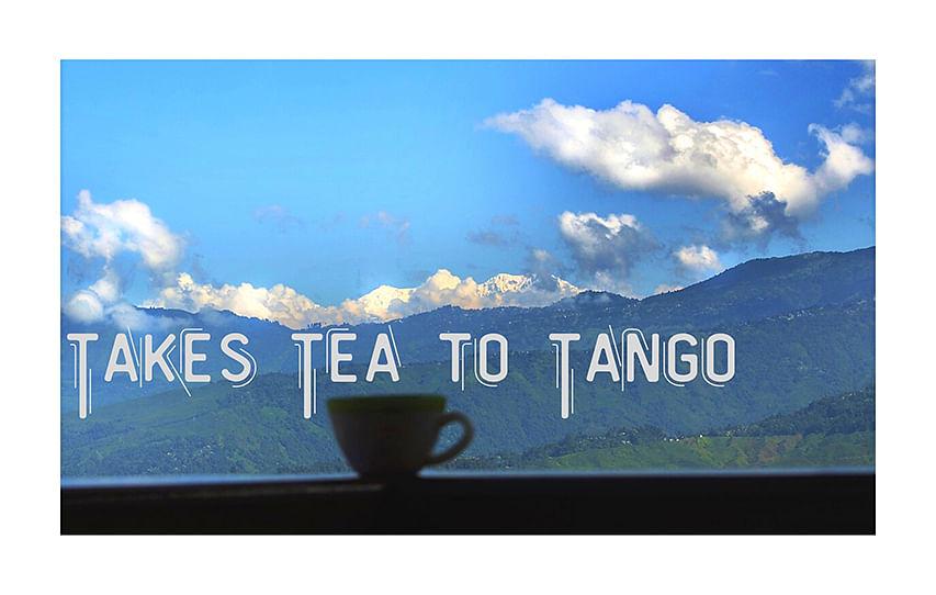 Takes tea to tango