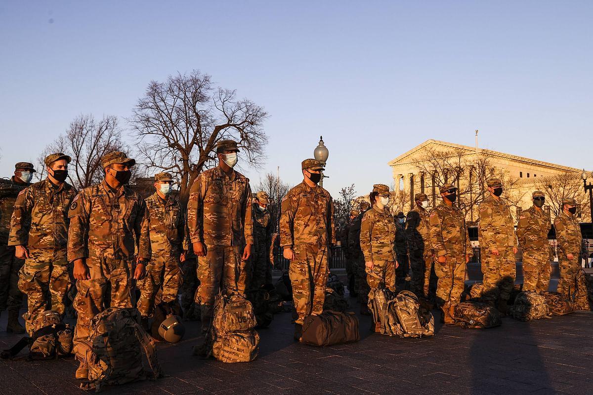 More than 200 National Guard troops deployed for Joe Biden's inauguration test positive for coronavirus