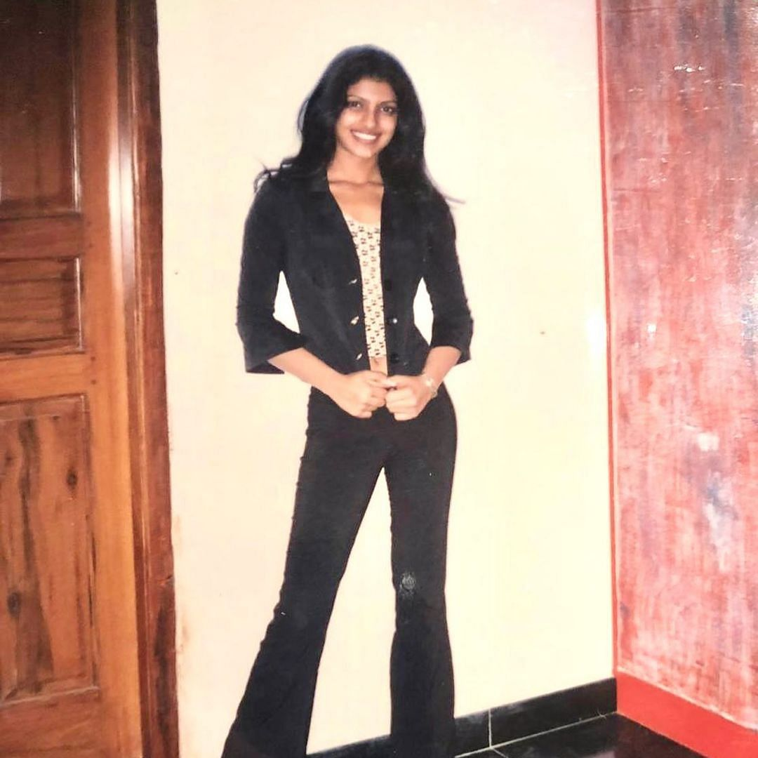 Priyanka Chopra reminisces about her 17-year-old self with a 'mean' throwback picture