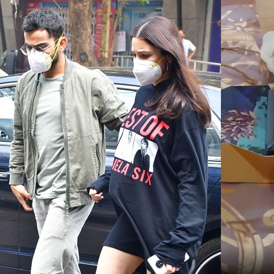 Watch: Here's what Virat-Anushka gifted paparazzi after urging them to not click their daughter's picture