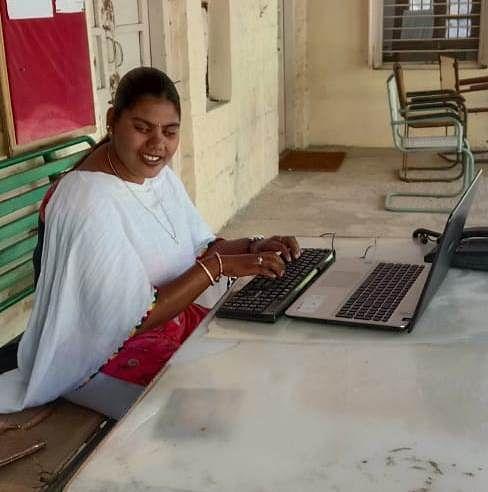 Meet Lakshmi who overcame blindness