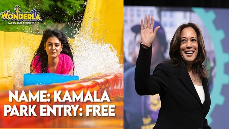 This Indian theme park is offering free entry to anyone named 'Kamala' for a day to honour US Vice President Kamala Harris